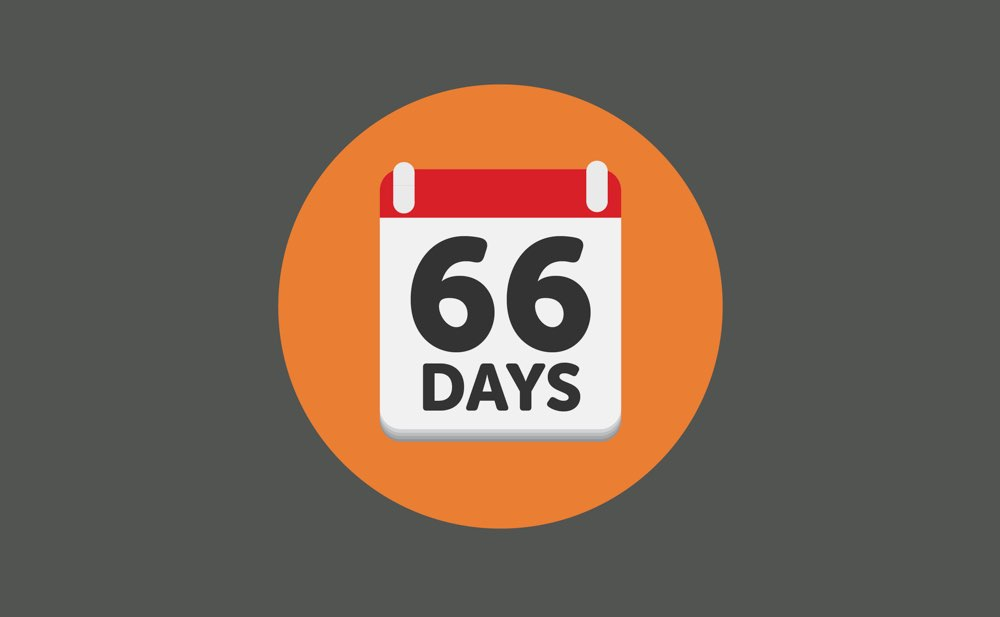 change a habit in 66 days