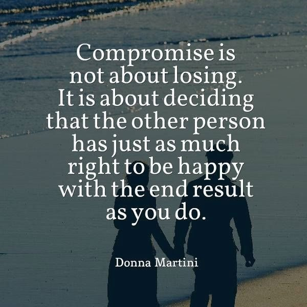 it is ok to compromise quote