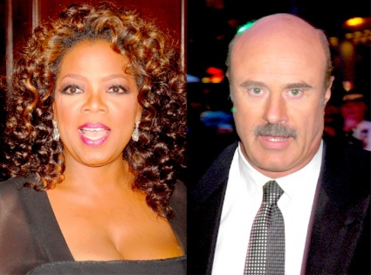 Dr Phil is a total showman. Oprah wins when it comes to really helping
