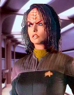 do you ever feel like you're married to a Klingon?